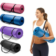 15mm EXTRA Thick Yoga Mat Exercise Fitness Pilates Camping Gym Pad Non-Slip