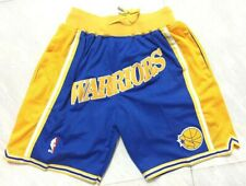 Stephen Curry Warriors Vintage Basketball Game Shorts Men's NWT Stitched Pants