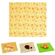 Reusable Beeswax Food Wrap Set of 3 Sustainable  Bee Wax Cloth 3 Sizes