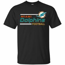Fan Miami Dolphins Team Football Short Sleeve T-Shirt Men's S- 5XL Made In US