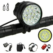 5000Lm 15x XM-L T6 LED Front Head LED Bicycle Lamp Bike Light Headlight Torch