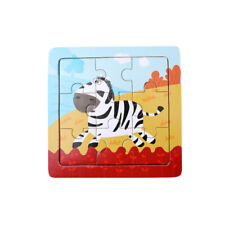 Baby Wooden Jigsaw Toys Colorful Children Early Educational Puzzle Toys Colorful