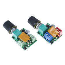 Mini DC 5A motor pwm speed controller 3V-35V speed control switch led dimmer  ^^