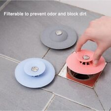 1PC Rubber Circle Sink Strainer Filter Water Stopper Floor Drain Hair Catcher