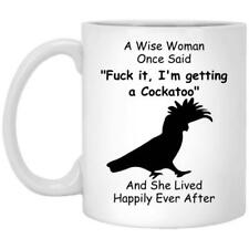 Cockatoo Mom Gift Coffee Mug 11oz 15oz Mothers Day Gift Print in US