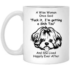 Shih Tzu Mug Dog Mom Gift Coffee Mug 11oz 15oz Mothers Day Gift Print in US