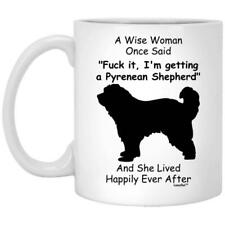 Pyrenean Shepherd Gift For Dog Mom Coffee Mug 11oz 15oz Mothers Day Gift