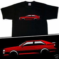 RED AUDI QUATTRO ASHES TO ASHES INSPIRED T-SHIRT S-XXXL