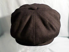 GENTS RETRO NEWSBOY 8-PANEL HAT BAKER BOY CAP XXL SIZE IN STOCK 4 COLOURS