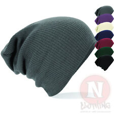 SLOUCH BEANIE Hat in 3 colours beenie festival club NEW
