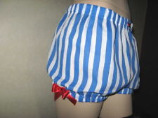 NEW  Sailor Lolita Blue White Red Sissy knickers Shorts Bloomers Pantaloons Gift