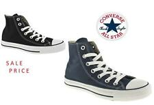 BLACK NAVY WHITE CONVERSE ALL STAR  TRAINERS ALL SIZE's