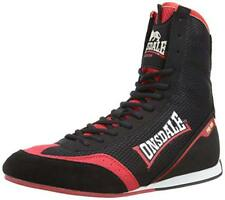 NEW LONSDALE BOXING SHOE SWIFT BLACK  RED BLUE MENS ADULT LIGHTWEIGHT BOOTS
