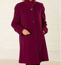 women's winter Wool coat long jacket Plus XL 1X 2X 3X4X