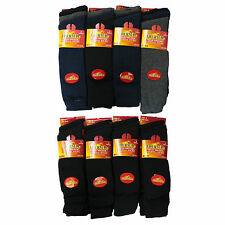 S60 MENS 12prs LONG WINTER THERMAL WARM BOOT SOCKS 6-11
