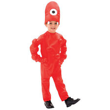 Child Toddler Music TV Show Yo Gabba Gabba Muno Red Monster Costume