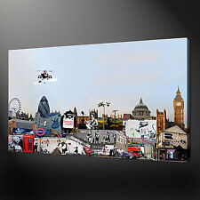 BANKSY CANVAS PRINT PICTURE COLLECTION GRAFFITY ART WALL ART FREE UK DELIVERY