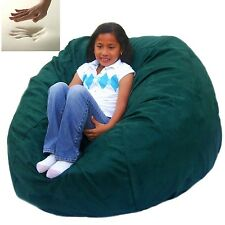 Extra Large Bean Bag Chair Memory Foam Filled Cozy Sack Factory Direct