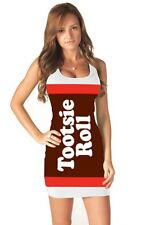 Tootsie Roll Candy White Costume Tank Dress