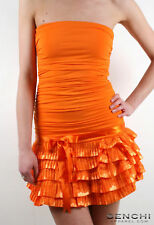 NEW RARA LACE SALSA EVENING PARTY DRESS ORANGE 8 10 12