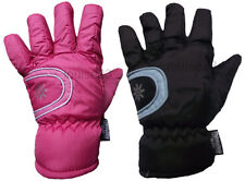 G43 BOYS GIRLS KIDS WINTER BREATHABLE WARM PADDED SKI GLOVE THINSULATE LINED