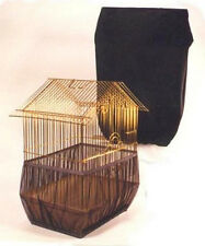 New Sheer Guard Bird Cage Set-Skirt & Cover - Size Large