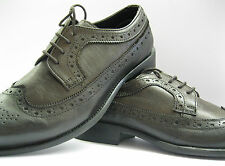 ALBERTO TORRESI A2084 DK BROWN LEATHER BROGUE LACE SHOE