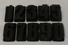 Alphabet NUMBERS - Personalised Cake Words Pan Silicone Bakeware Mould Mold Tin