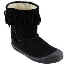 DUNLOP VOLLEY UGGLY UGG LADIES SLIPPERS/LEATHER SUEDE BOOTS AUS SIZES