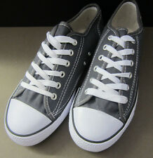 Mens Grey Canvas Lace Up's X0001