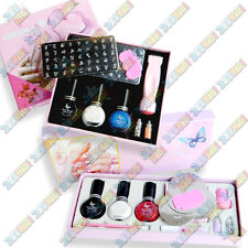 COFFRET KIT MANUCURE STAMPING NAIL ART DECO ONGLERIE NA8202 ou NA8252 ...