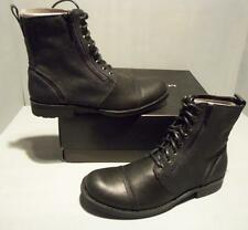 Marc Anthony Men's Black Mahector Leather Suede Casual Boots SIZES! NIB
