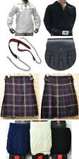 Great Gift Mens Package 5 Yard Kilt Shirt Hose Sporran Belt Heritage of Scotland