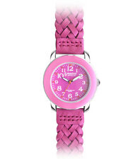 Prestige Medical Nurse Woven Leather Band Watch - 4 Colors!