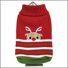 Dog Clothes FouFouDog Reindeer Sweater Christmas Holiday Yorkie Chihuahua Puppy