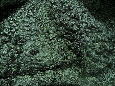 Faux Fur Fabric CURLY BOTTLE GREEN - All Sizes Bulk Discounts FREE POST