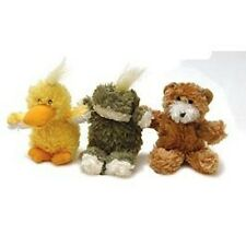 Kong Dr Noys squeaky chien peluche chiot de petites morsure-Extra Small grenouille, ours, canard