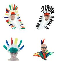 INDIAN HEADDRESS ALL KINDS FANCY DRESS ACCESSORY