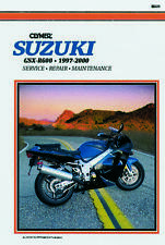 1997-200 Suzuki GSXR600 Clymer Motorcycle Repair Manual