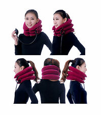 Neck Traction Collar Relief Cervical Traction Portable Inflatable Device