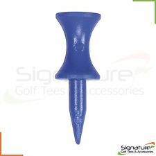 Blue Plastic Castle Golf Tees - Various Quantities Available ***FREE UK P+P***