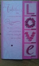 X-Large Hallmark Happy Valentine's Day Romantic Card Cards with FREE POSTAGE
