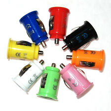 Lot of Mini Bullet Dual 2-Port USB Car Charger Adaptor For iPhone 5 6 Plus iPod