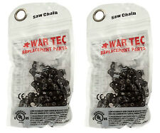 PACK OF 2 CHAINSAW CHAIN TO FIT MCCULLOCH MAC CAT 335 435 436 438 440 441 836