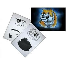 Step by Step Airbrush Stencil AS-068 ~ Template ~ UMR-Design