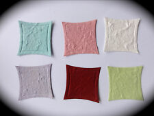 Cardmaking & Craft Mulberry Paper Toppers - CURVED SQUARE Pack of 25 or 50