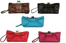 JESSICA SIMPSON JS7690 BELLA BOW CLUTCH-INCEDIBLY CUTE!
