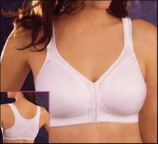 New EXQUISITE FORM FRONT CLOSE POSTURE Wire Free Bra 2563 WHITE