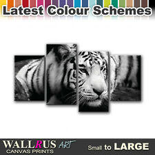 Tiger ANIMALS  Canvas Print Framed Photo Picture Wall Artwork WA