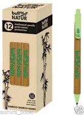 NEW Bamboo Mechanical Pencil Box Of 12-Pen casing is made from bamboo WA52479